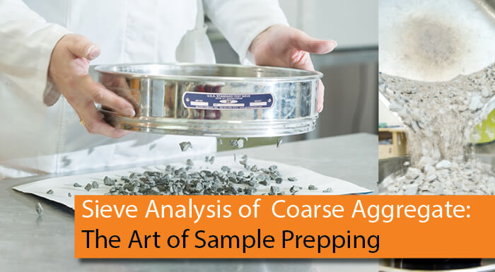 Sieve Analysis of Coarse Aggregate: Art of Sample Prepping