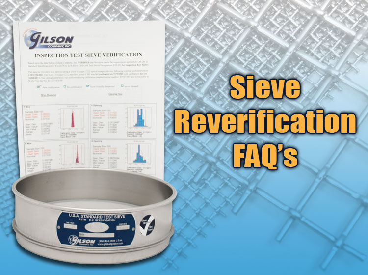Sieve Reverification FAQs