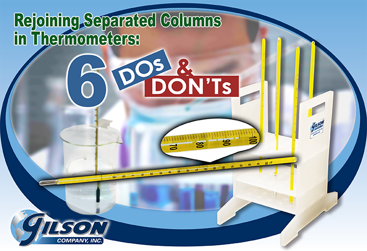 thermometer column separation