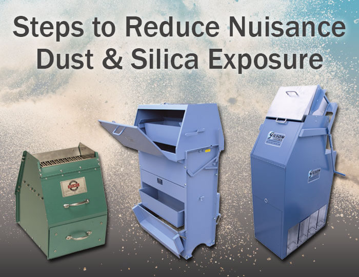 Steps to Reduce Nuisance Dust & Prevent Silica Exposure