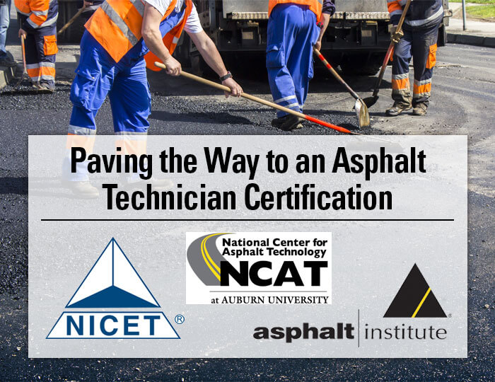 Asphalt Technical Certification