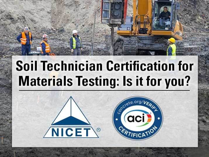 Soil Technician Certification For Materials Testing Gilson Co