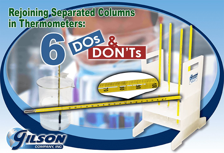 thermometer column separation tips