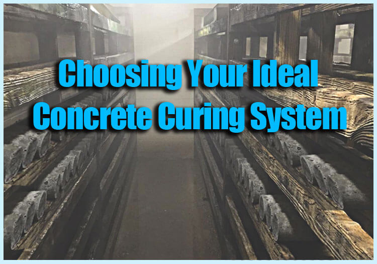 Choosing you ideal concrete curing system