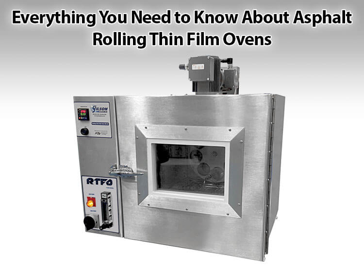 Everything You Need to Know About Asphalt Rolling Thin Film Ovens