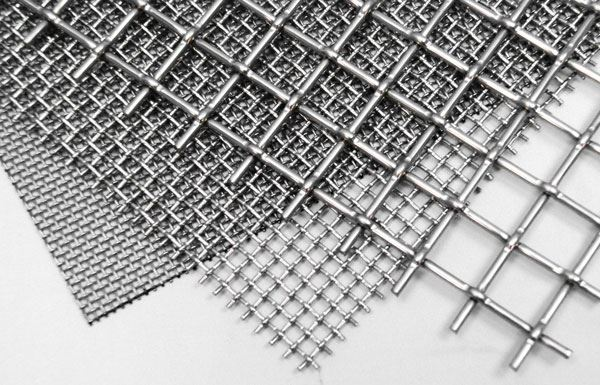"""Cut-To-Order Stainless Wire Cloth, 1"""""""