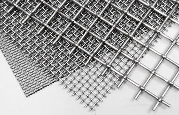 """Cut-To-Order Stainless Wire Cloth, 2-1/2"""""""