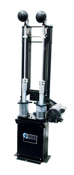 Marshall Compactor, Automatic, Rotating Base, Double 4in Molds