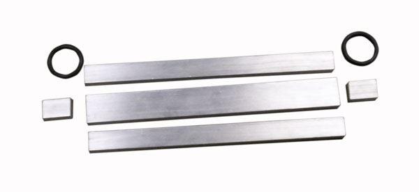 Aluminum BBR Beam Molds, Set of 5