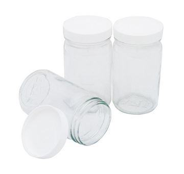 8oz Sample Containers for Gilson Mini Mixing Wheel