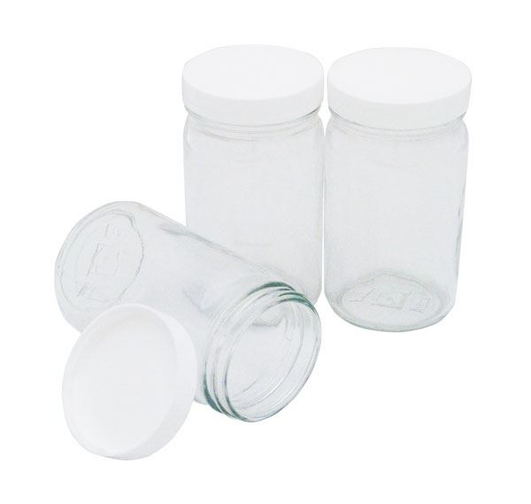 8oz. Sample Containers for Gilson Mini Mixing Wheel