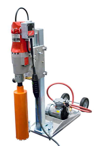 Electric Core Drill For Asphalt Concrete Sample