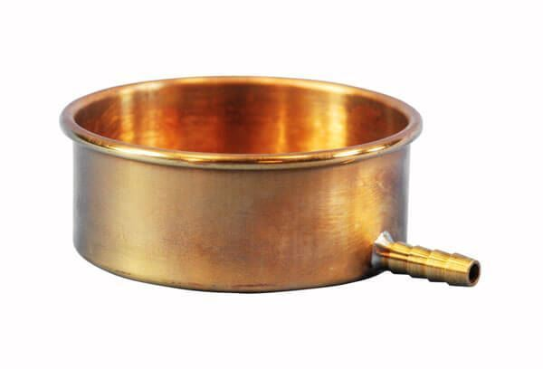 3in Sieve Pans with Drain
