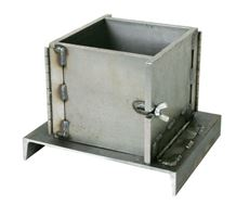 Steel Concrete Cube Mold, 6x6in
