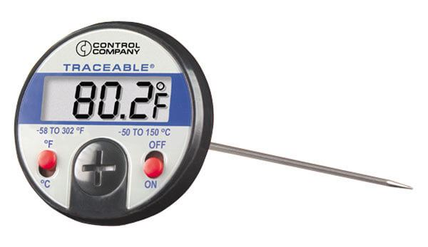 Traceable® Jumbo-Display Dial Thermometers, -58°—302°F (-50°—150°C)