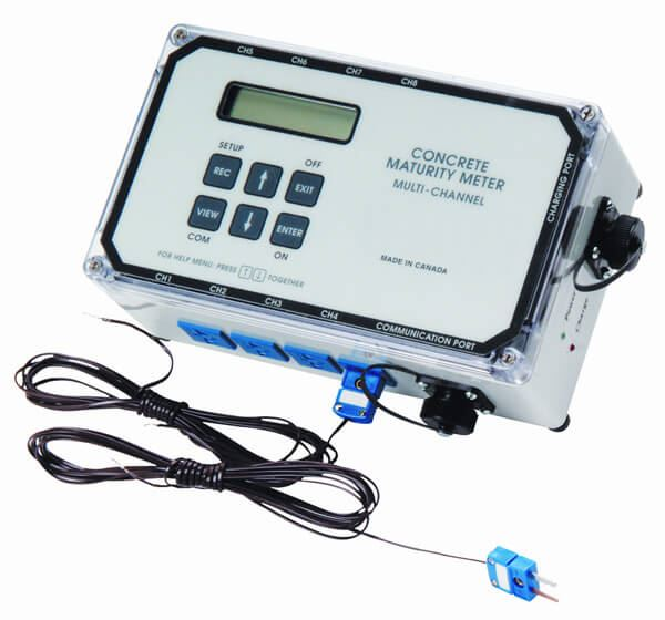 Concrete Maturity Meters, 4-Channel