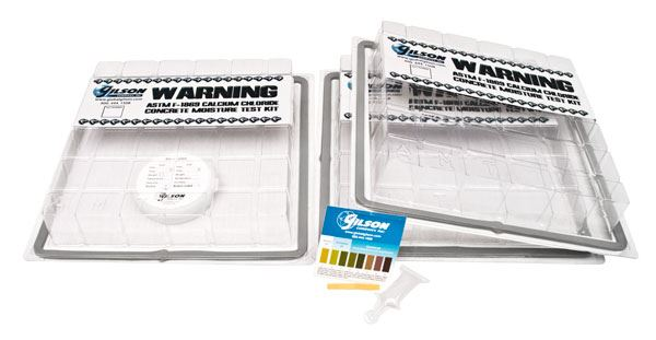 Moisture Emission Test Kits