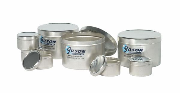 8oz. Tinned-Metal Sample Container