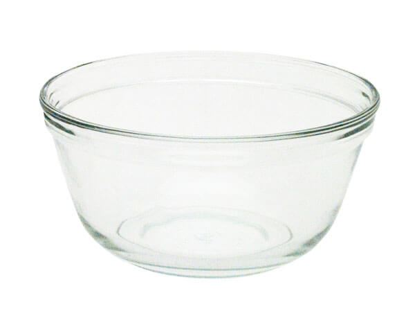 2.5qt. Round Glass Bowl