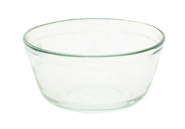 1.5qt. Round Glass Bowl