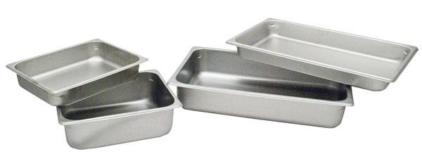 1.8qt.Rectangular Stainless Steel Pan