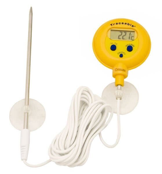 Waterproof Thermometer, -58°—572°F (-50°—300°C)