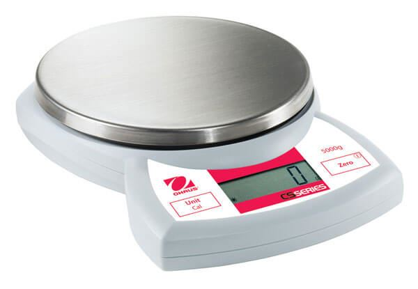 5,000g Capacity Ohaus CX Compact Scale, 1.0g Readability