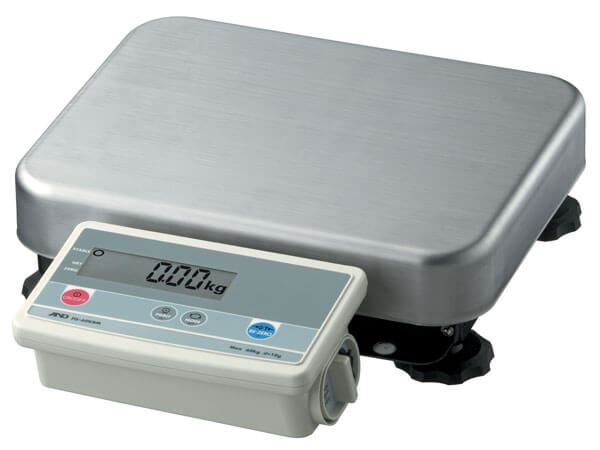 150,000g Capacity A&D FG-K Bench Scale, 10g Readability