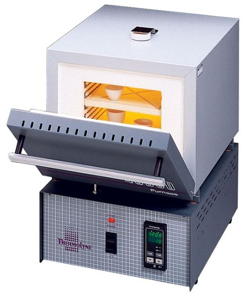 350in³ Muffle Furnace w/ Single Set Controller