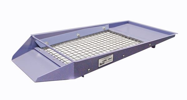 3/8in Continuous-Flow Screen Tray