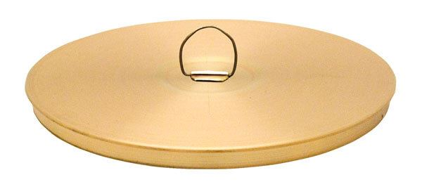 "12"" All Brass Sieve Cover with Ring"