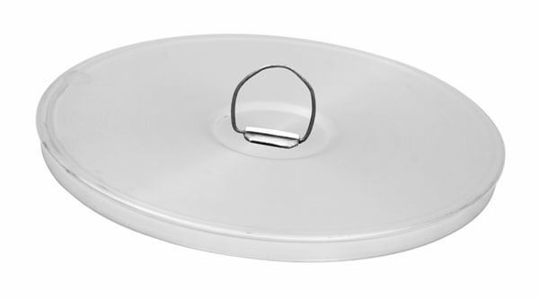 "8"" All Stainless Sieve Cover with Ring"