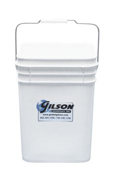 Square Plastic Sample Bucket