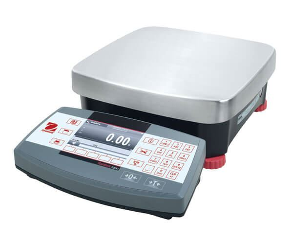 6,000g Capacity Ohaus Ranger® 7000 Compact Bench Scale, 0.1g Readability