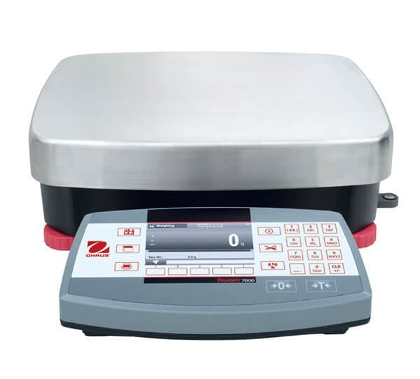 35,000g Capacity Ohaus Ranger® 7000 Compact Bench Scale, 0.5g Readability