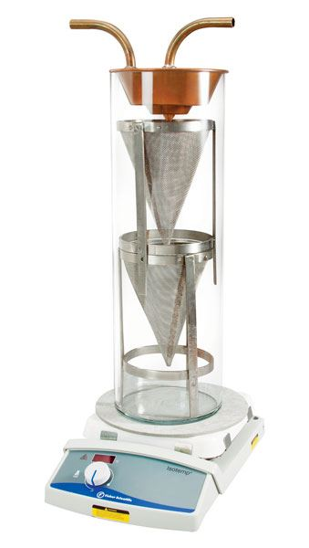 Wire Mesh Cone Set for 1,000g Reflux Extractor