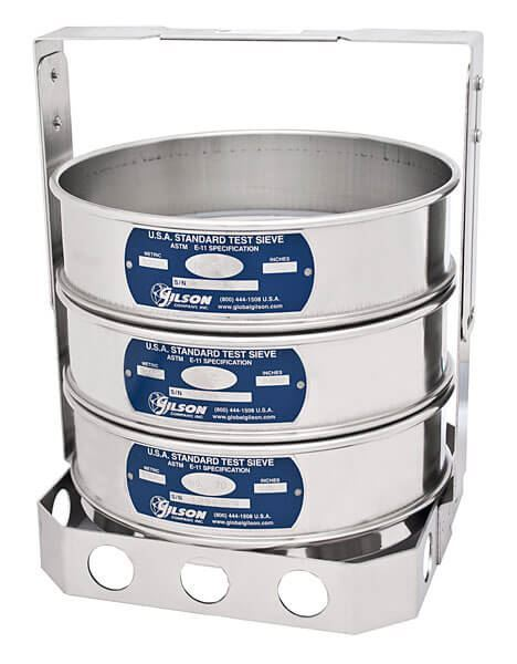 8in Sample Sieve Holder (Sieves not included)