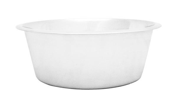 5qt. Round Stainless Steel Pan