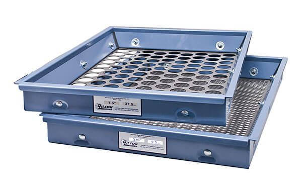 1/2in Perforated Plate Screen Tray