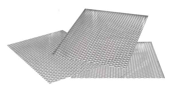 7/8in Perforated Plate Only for Screen Trays