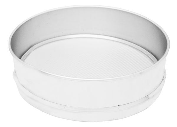 """8"""" Precision Electroform Sieve, Full Height, 5um without Support Grid"""