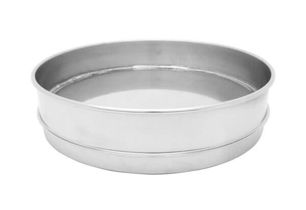 "12""  All Stainless Extended Rim Pan, Full Height"