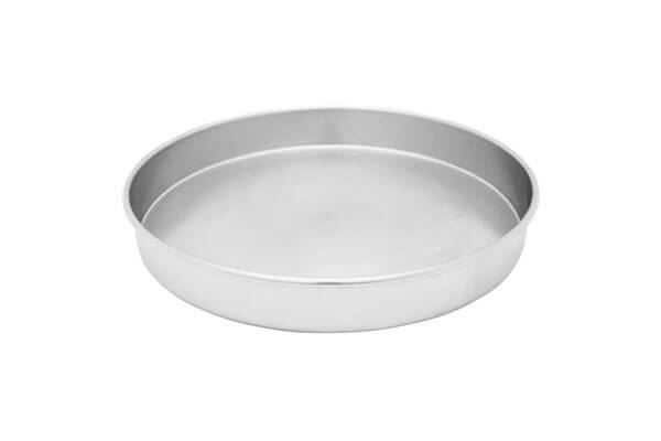"3"" All Stainless Sieve Pan, Half Height"