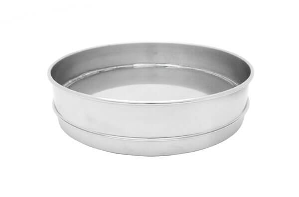 "3"" All Stainless Extended Rim Pan, Half Height"