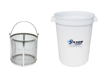 Specific Gravity & Absorption of Coarse Aggregate Components