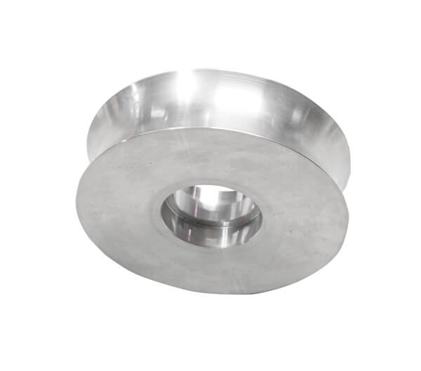 Concave Stainless Steel Wheels for Rut / Moisture Testing