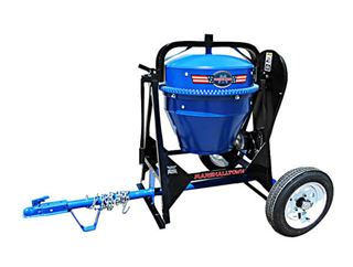Portable Concrete Mixer, Hi-Speed Towing