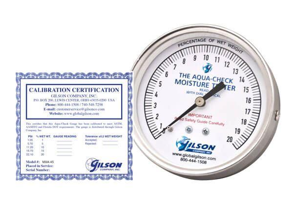Aqua-Check Pressure Gauge