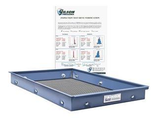 ASTM E11 Inspection Screen Tray Reverification