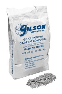 Gilson Gray Iron 9000 Capping Compound (1 to 39 Bags)